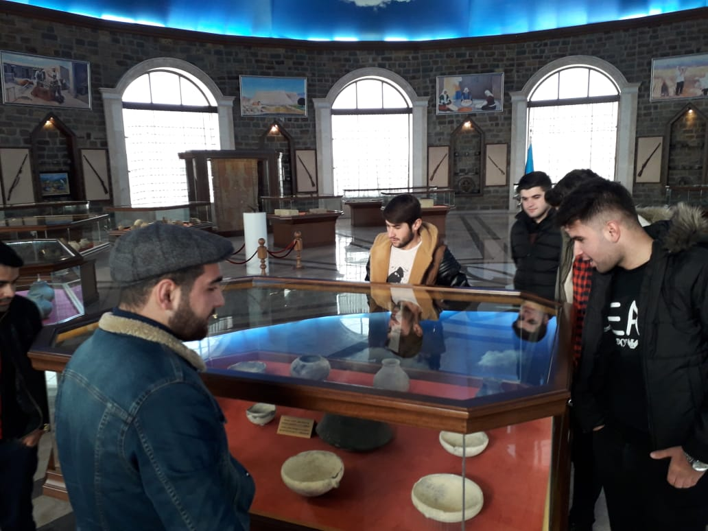 "Students visited Historical-Architectural Museum Complex ""Nakhchivangala"""