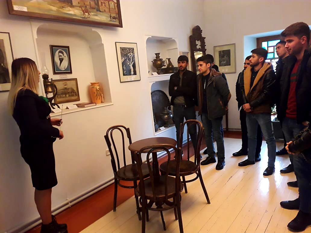 Students visited the House Museum of Huseyn Javid