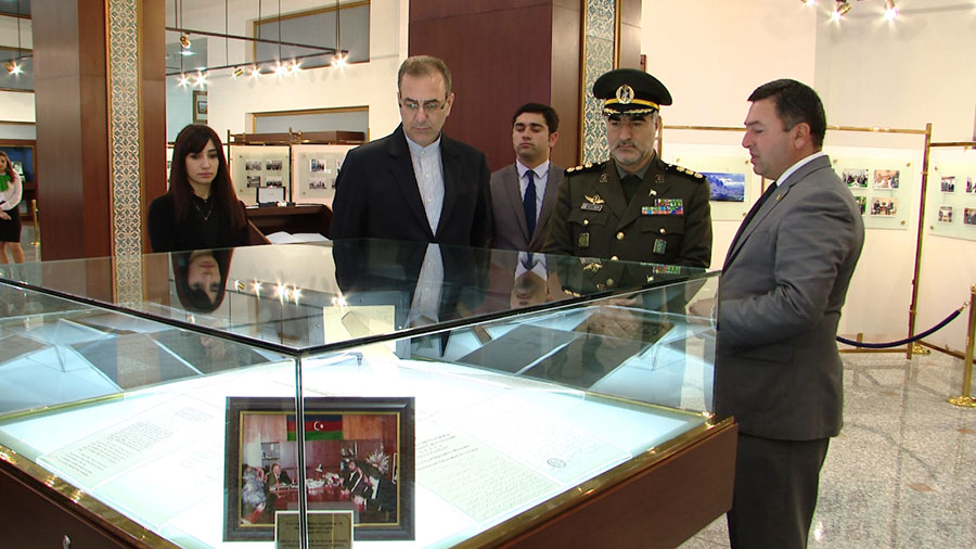 The Military Attaché of the Embassy of the Islamic Republic of Iran in Azerbaijan visited Nakhchivan Autonomous Republic